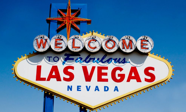 Welcome to Las Vegas sign photo